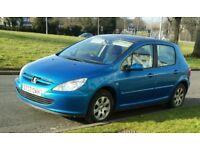 peugeot 307 diesel 4 door year mot