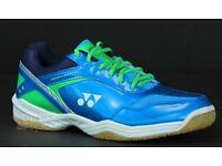 New Yonex SHB 33iEX Badminton Shoes (Blue) UK Size 7
