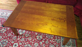 M&S real wood coffee table