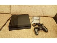 Playstation 4 500gb Black Jet with Last of Us