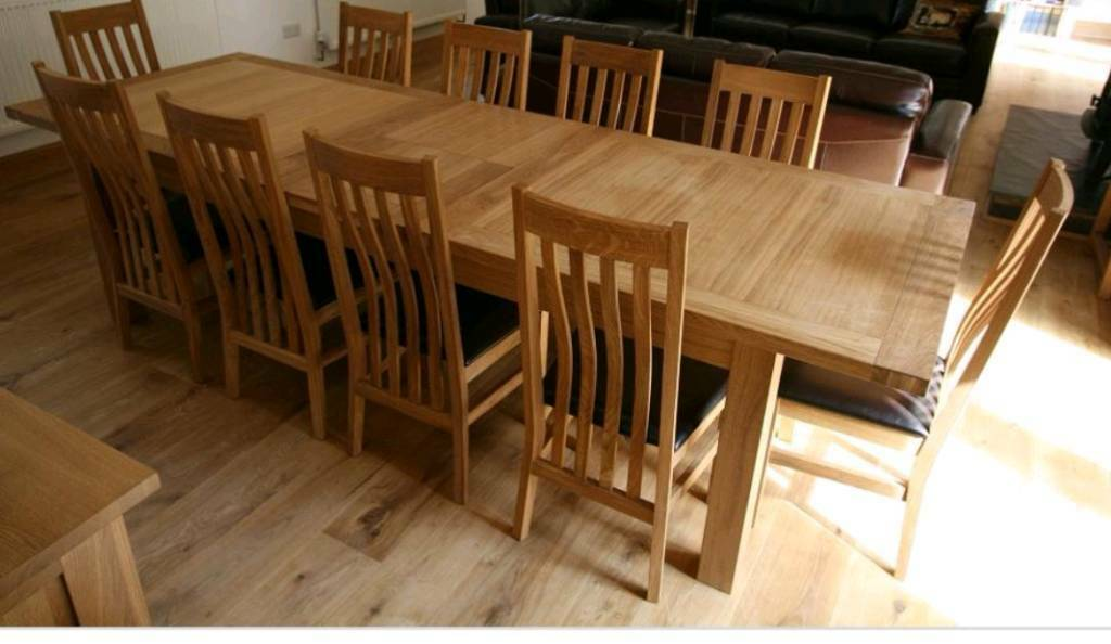 Large Dining Table Seat 10 Quick Today Need Gone In Churchdown Gloucestershire Gumtree