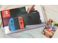 Brand New Nintendo Switch & game £300 ONO
