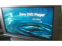 "52"" Sony hd tv & DVD player stand"