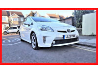 (61000 Miles)-- 2013 Toyota Prius 1.8 VVT-i PHEV Plug-in HyBrid -- LEATHER Seats -- Camera -- Loaded