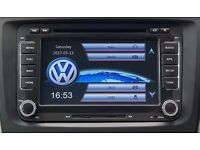 BRAND NEW RNS510 STYLE HD DVD GPS SAT NAV 7 INCH VW PASSAT GOLF MK5 6 T5 BLUETOOTH/DVD/USB/SD/CANBUS