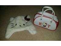 Hello Kitty Hat and Bag
