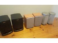 Speakers Sony, JVC