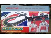 Scalextric Vodafone Mclaren Mercedes Hamilton V Button ORIGINAL production Tracks set.
