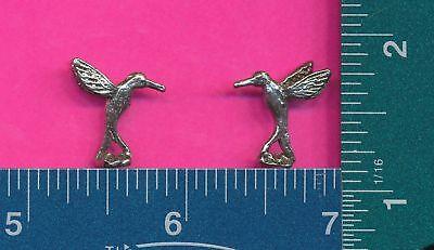 100 wholesale pewter hummingbird figurines m11089