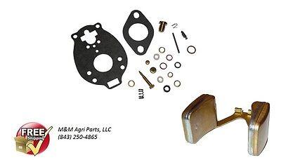 Carburetor Repair Kit Float Massey Ferguson Mf 35 50 135 150 To35 202 204 Mh50