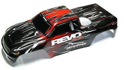 Nitro Revo 3.3 BODY (RED  & Decal, Cover Painted Shell , 5309 Traxxas  ()