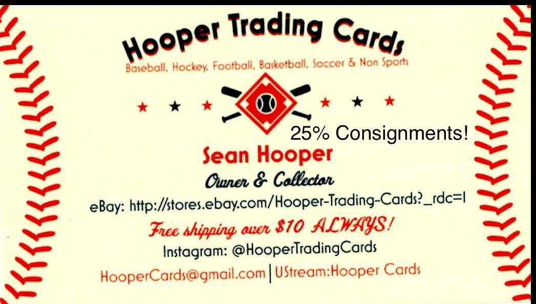 Hooper Trading Cards
