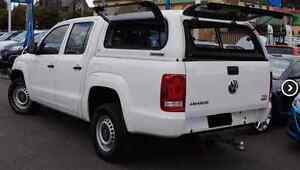 VW Volkswagen Amarok Tub & Canopy Dodges Ferry Sorell Area Preview