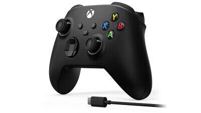Microsoft Xbox Wireless Controller + USB-C Cable Gamepad PC, Xbox One, Xbox...