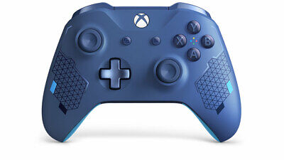 New Xbox One Sport Blue Wireless Controller Special Edition Bluetooth Window 10