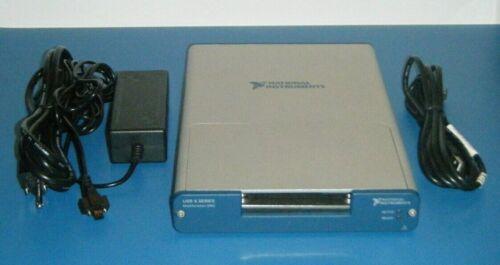 NI USB-6351 X-Series Multifunction DAQ for USB, National Instruments *Tested*