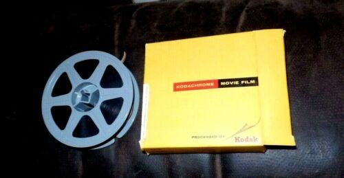 RARE Vintage Kodak Kodachrome Color 16mm Home Movie Film Reel Untitled 4 Inch