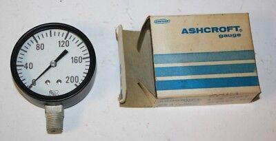 Ashcroft 2.5 1000 60 Psi Pressure Gauge