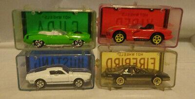 Hot Wheels Avon Park N Plates Set of 3 Cuda Firebird Mustang Viper