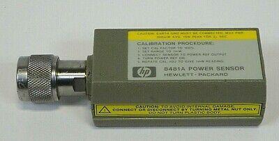 Hp - Hewlett Packard - 8481 A - Power Sensor- Free Shipping