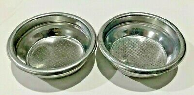 Used Double Portafilter Insert Basket For 14g Espresso Pods Set Of 2 1001
