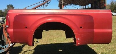 1999-2010 Ford  F350 Maroon Red Dually Long Wheel Base Bed Fenders Fender, used for sale  Vancleave