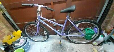 """Raleigh Calypso 18"""" Mountain Bike 22"""" wheels good condition"""
