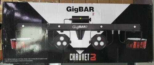 Chauvet GigBar 2.0 DMX LED 4-In-1 Light FX Bar w/Tripo Footswitch Remote Bag