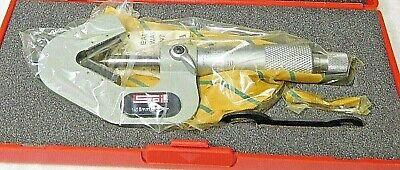 Spi Mechanical V Anvil Micrometer 1mm-15mm 3 Flutes Measured 0.0mm Grad 14-271-1