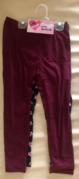 CRUSH Girls Twin Pack Leggings, Size 4 - NEW - $0.01