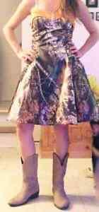 Gorgeous camo dress
