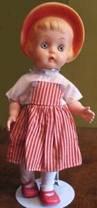 "Bonnet Head Girl DOLL by Reliable Toy Co. 14""  1963"