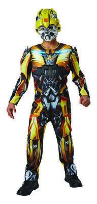 Bumblebee Transformers 5 Deluxe Kostüm Original - Bumblebee Kostüm Kinder