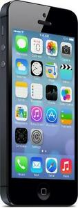 iPhone 5 32 GB Black Fido -- 30-day warranty and lifetime blacklist guarantee
