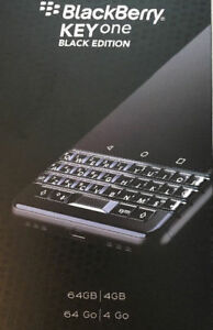 BlackBerry KeyOne Black Edition  64 GB + 4GB