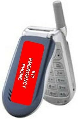 Emergency 911 ONLY Cell Phone With No Service Fees No Contracts