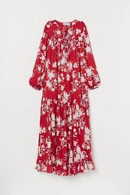 H&M Johanna Ortiz Floral Maxi Dress Size L