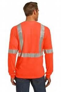 High Visib Safety T-Shirts, cotton; polyester,top quality $10