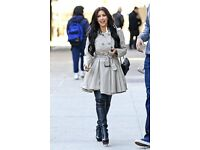 Brand new trench coat size 6/8
