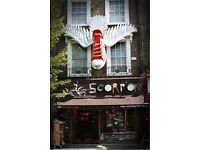 Retail Sales Assistants required (full time): Scorpion Shoes, Camden Town.