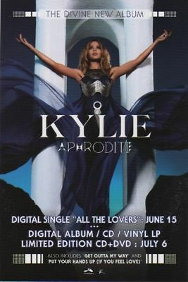 Kylie Minogue poster - Aphrodite - promotional poster # 1 - 11 x 17 inches