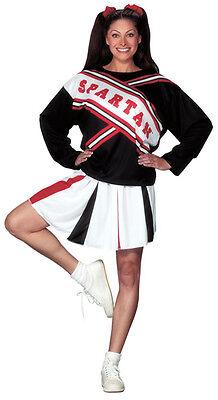 Spartan Cheerleader Kostüm (Adult Female Spartan Cheerleader Costume)