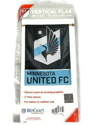 United Vertical Flag (Minnesota United FC Indoor/Outdoor 28