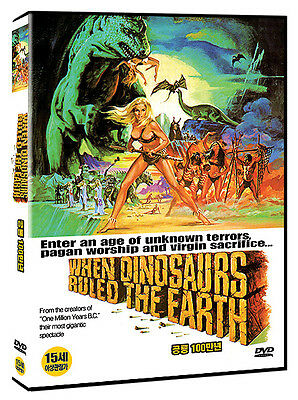 When Dinosaurs Ruled The Earth (1970 - Val Guest, Victoria Vetri) DVD NEW