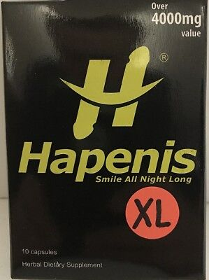 - HAPENIS XL, The STRONGEST MALE ENHANCEMENT PILL (RED PILL) 10 pill pack