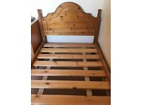 Single Bed with New Mattress (used twice)