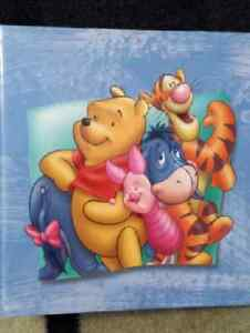 Disney's Winnie-the-Pooh 3-Ring Scrapbook or Binder London Ontario image 1