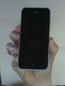blue iphone 5C 16gb