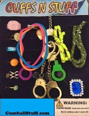 Jewelry Rings Bracelets Mix 1 Acorn Vending Gumball Machine 250 Toy Capsules
