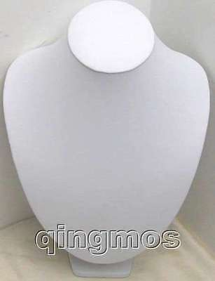 One White Or Black 972218cm Leatherette Jewellery Necklace Display Stand